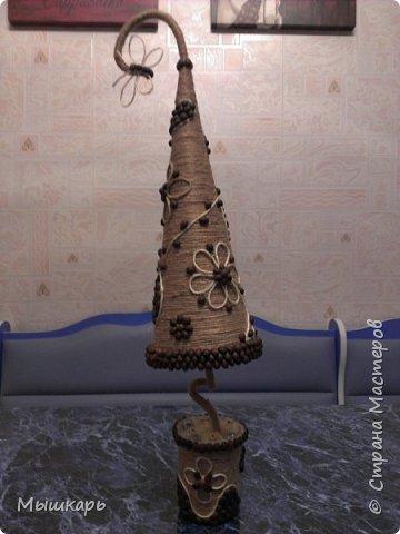Приветствую всех! Эту первую ёлку сделала задолго до Нового года. фото 2