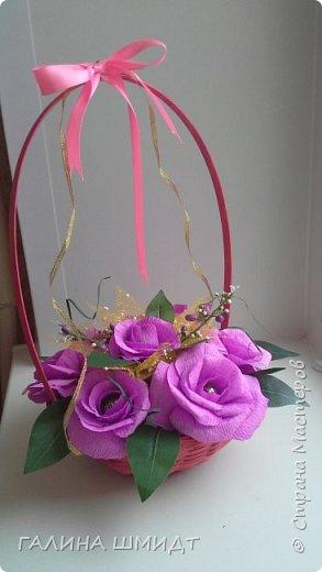 Заразилась и я свит-дизайном... эх как же это прекрасно и увлекательно. Это первая корзинка с первоцветами и бабочкой из салфетки фото 2
