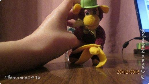 Моя новогодняя обезьянка! фото 1