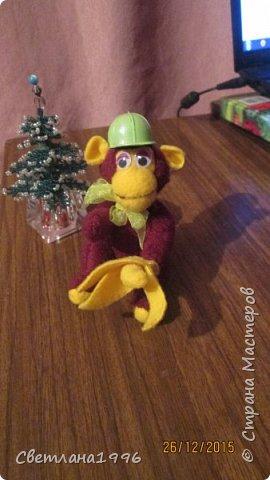 Моя новогодняя обезьянка! фото 2