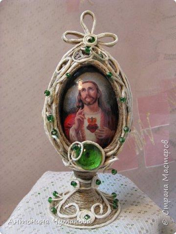 """Пасхальное яйцо """" Святое сердце Иисуса"""" фото 1"""