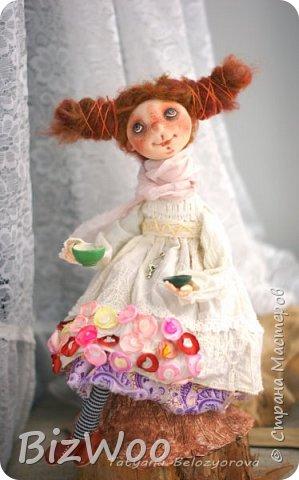 Доброго всем дня! Этот год я начала с новых кукол в смешанной технике. Они все полностью на проволочном каркасе. Рост от 15 до 35 см. фото 15