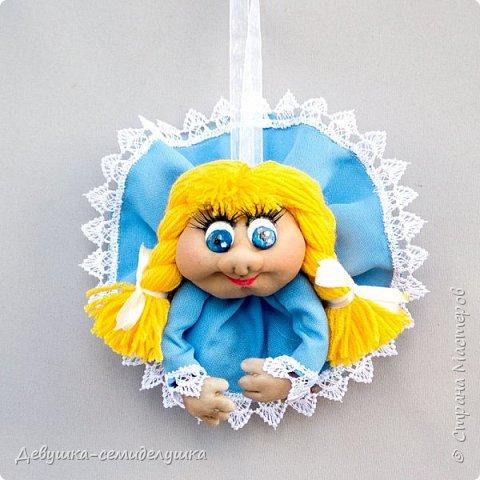 Девочка в голубом (мини) — доверчивая и наивная.  Верит, что мир прекрасен. Приносит удачу добрым людям. фото 1