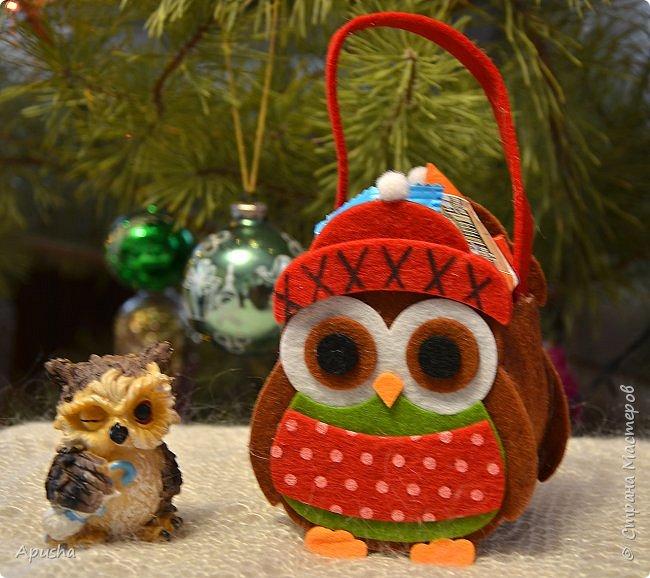 Всем доброго вечера! Давно меня здесь не было, но так как в школе карантин, времени появилось много, то я решила заглянуть и показать новогодние поделки и подарки.  У меня накопился целый мешок подарков. Этот набор новогодних игрушек на ёлку мы шили с мамой.  фото 17