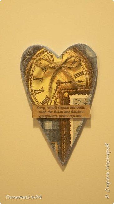 Магниты-валентинки на холодильник с признаниями 13х8 см. Пластик ПВХ, декупаж, магнитный винил.  фото 7