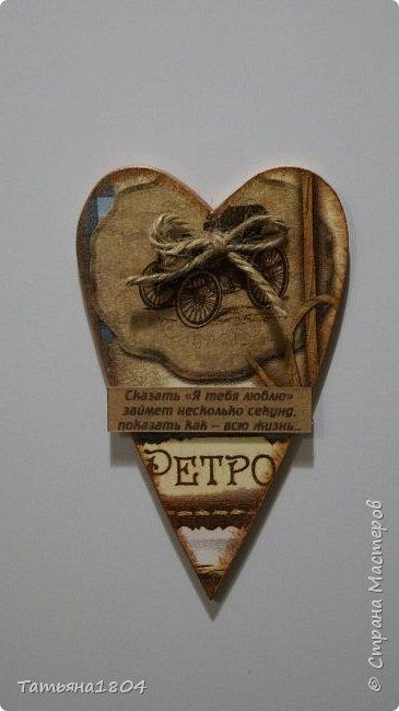 Магниты-валентинки на холодильник с признаниями 13х8 см. Пластик ПВХ, декупаж, магнитный винил.  фото 9