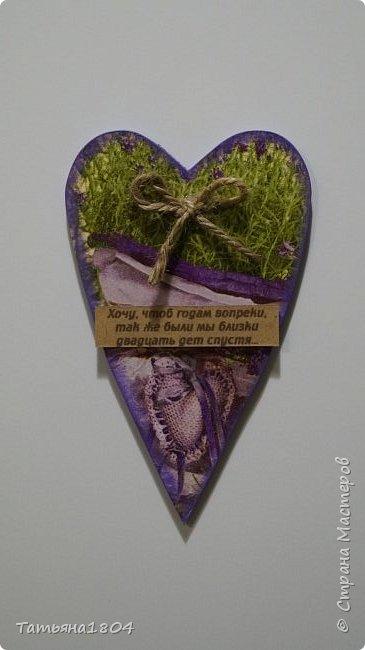 Магниты-валентинки на холодильник с признаниями 13х8 см. Пластик ПВХ, декупаж, магнитный винил.  фото 12