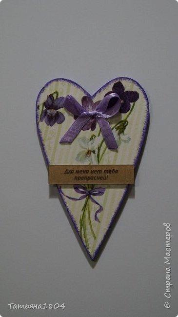 Магниты-валентинки на холодильник с признаниями 13х8 см. Пластик ПВХ, декупаж, магнитный винил.  фото 13