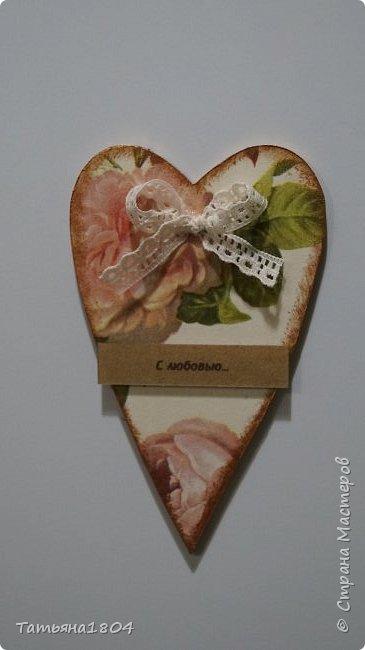 Магниты-валентинки на холодильник с признаниями 13х8 см. Пластик ПВХ, декупаж, магнитный винил.  фото 19