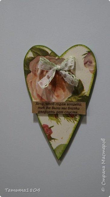 Магниты-валентинки на холодильник с признаниями 13х8 см. Пластик ПВХ, декупаж, магнитный винил.  фото 21