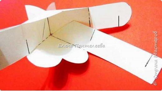 В прошлом году придумала шаблон корзинки из двух деталей без клея. Эти фотографии я выставляла на другом сайте, решила и со Страной Мастеров поделиться. фото 8