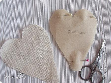 Всем здравствуйте! Представляю вашему вниманию текстильные сердечки:)) фото 3