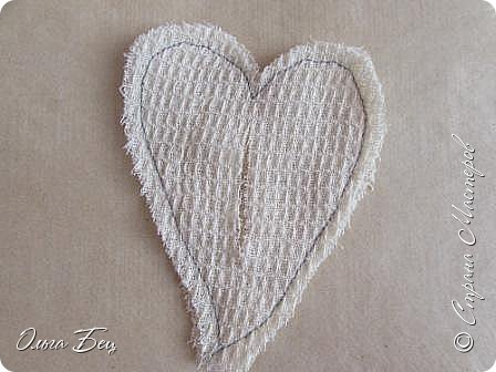 Всем здравствуйте! Представляю вашему вниманию текстильные сердечки:)) фото 4