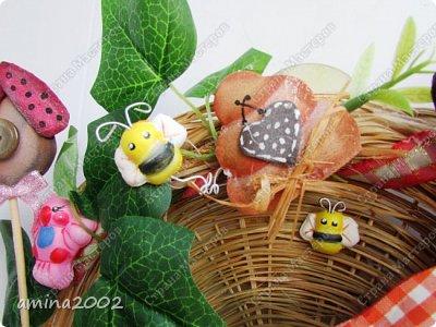 Добрый день! Панно из фома , использовались молды для головы чучелка,пчелки и птички. фото 4