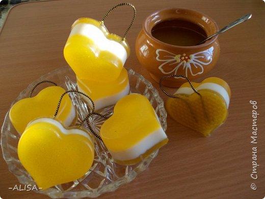 Медовое подарочное мыло. фото 1