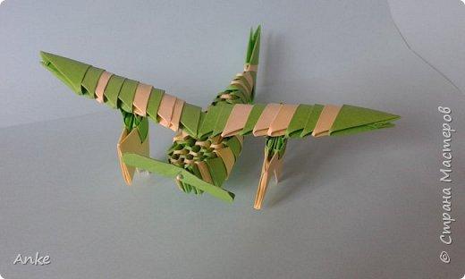 К приближающемуся празднику сделала совсем простой самолетик.  фото 1