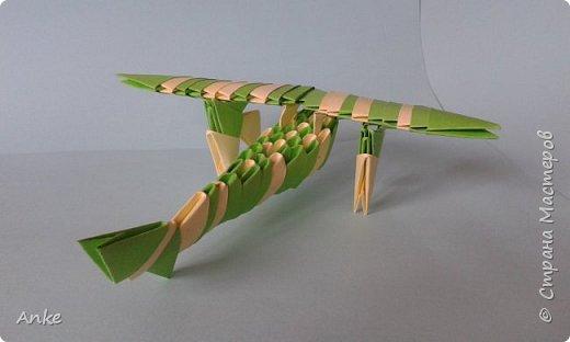 К приближающемуся празднику сделала совсем простой самолетик.  фото 2