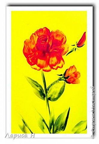 Энкаустика.Розы. фото 3