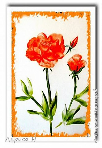 Энкаустика.Розы. фото 1