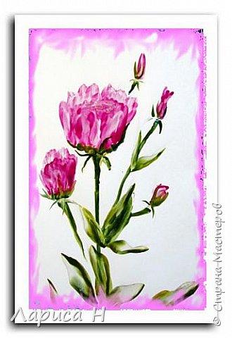 Энкаустика.Розы. фото 2