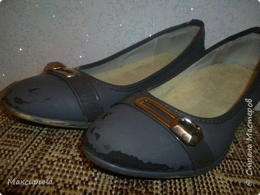 Здравствуйте!!! Всем доброго времени суток!!! Хочу показать как можно отремонтировать туфли. фото 4