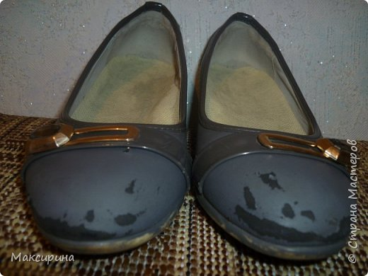 Здравствуйте!!! Всем доброго времени суток!!! Хочу показать как можно отремонтировать туфли. фото 2