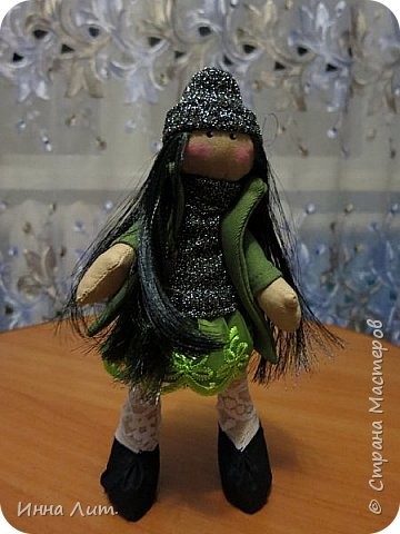 Приветствую Вас,жители!Решила попробовать шить куклы.Это мои первые.Корявенькие конечно немного,но первые все таки. фото 3