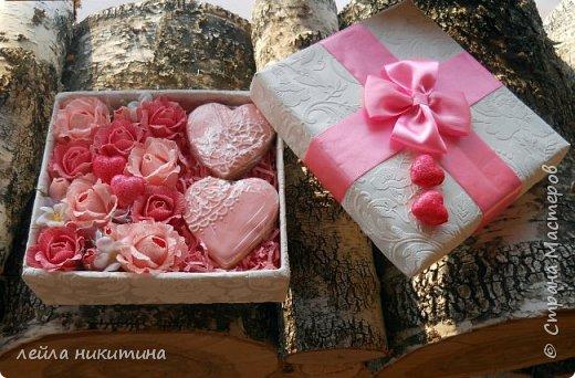 Всем доброго времени суток,Мастерицы!!! А влюбленных с праздником!!! К дню Святого Валентина у меня всего одна работа и та выполнена для друзей.Sweet box c песочными печеньями. фото 1