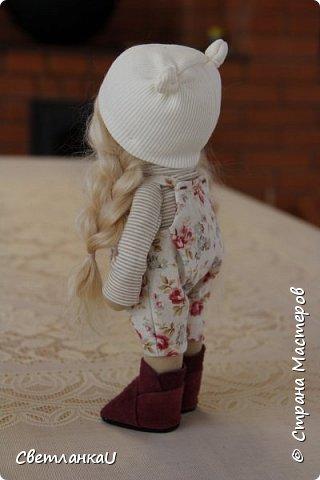 Интерьерная кукла, рост 26 см, январь 2016г фото 3