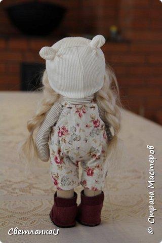 Интерьерная кукла, рост 26 см, январь 2016г фото 4