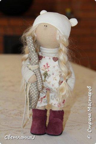 Интерьерная кукла, рост 26 см, январь 2016г фото 5