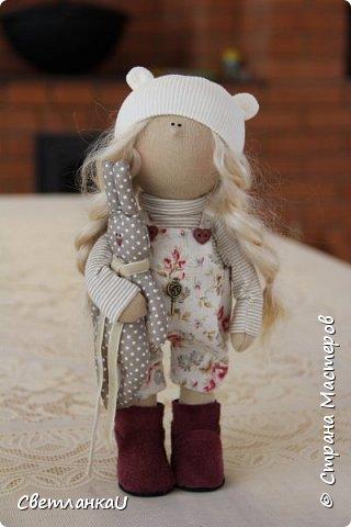 Интерьерная кукла, рост 26 см, январь 2016г фото 1
