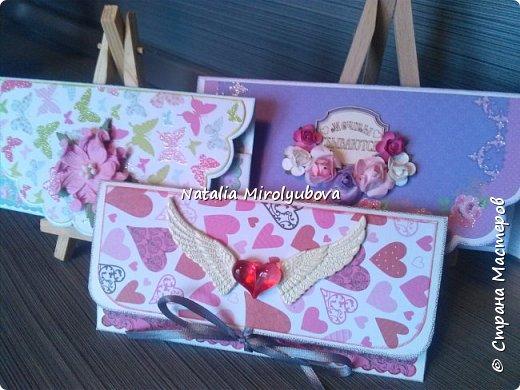 Подарочные конвертики для денег. фото 9