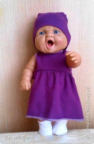 ПОшивушки куклам в садик. Попросили сделать гардероб. Вот что получилась.   фото 1
