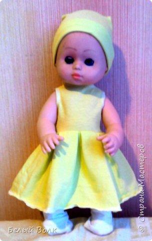ПОшивушки куклам в садик. Попросили сделать гардероб. Вот что получилась.   фото 5