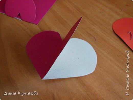 Хочу поделиться с вами,какие валентинки сделала к 14 февраля) фото 9