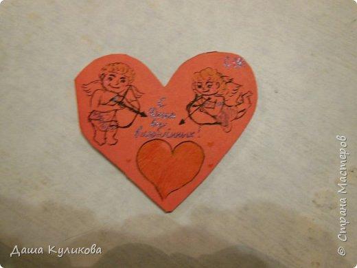 Хочу поделиться с вами,какие валентинки сделала к 14 февраля) фото 8