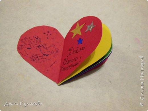 Хочу поделиться с вами,какие валентинки сделала к 14 февраля) фото 12
