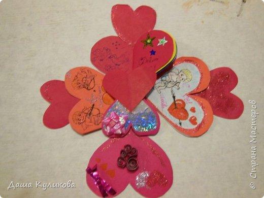 Хочу поделиться с вами,какие валентинки сделала к 14 февраля) фото 16