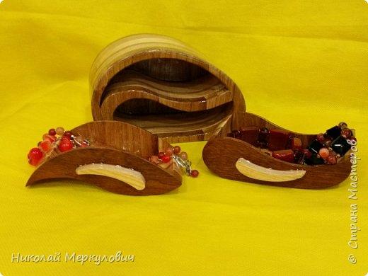 """""""Зайка""""-выполнен из дуба,венге,яблони  и береза. фото 11"""