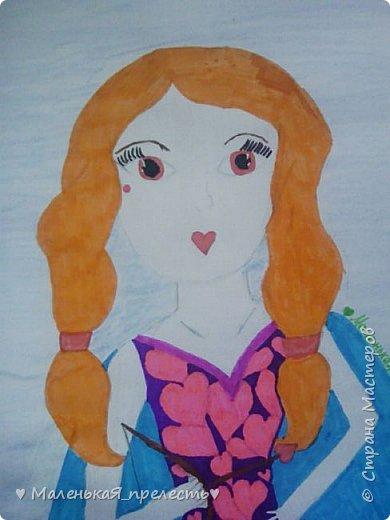 """Всем привет! Сегодня я сдаю работу на конкурс """"Моя фея"""". У меня получилась фея любви. В руках она держит лук со стрелами.  фото 2"""