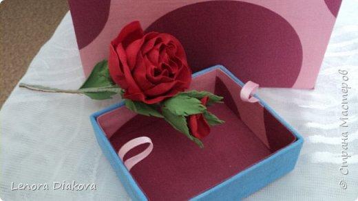 Добрый день всем! От всего сердца С ПРАЗДНИКОМ! Конечно покажу я сегодня не сердечки, но пусть эти шкатулочки и цветы поднимут вам настроение. фото 14
