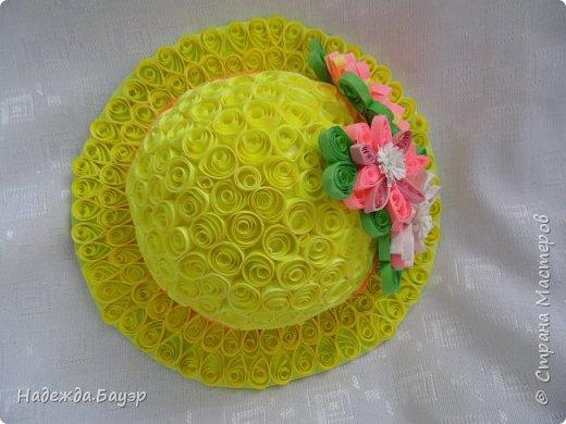 Дочка давно хотела сделать шляпки и вот что у нас получилось. фото 5