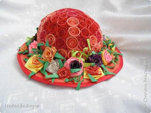 Дочка давно хотела сделать шляпки и вот что у нас получилось. фото 2