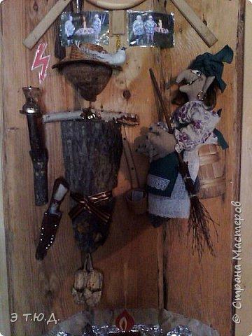 Кормилица Макоша есть пятая бабка Ежка, сшитая как кукла на чайник.  фото 8