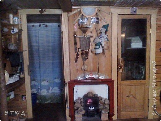 Кормилица Макоша есть пятая бабка Ежка, сшитая как кукла на чайник.  фото 9