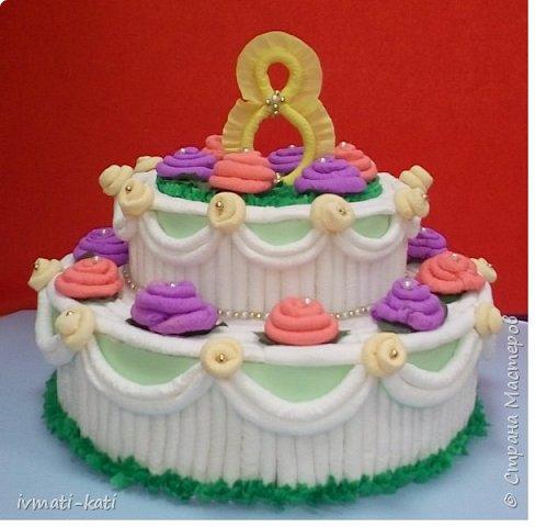 Праздничный торт фото 3