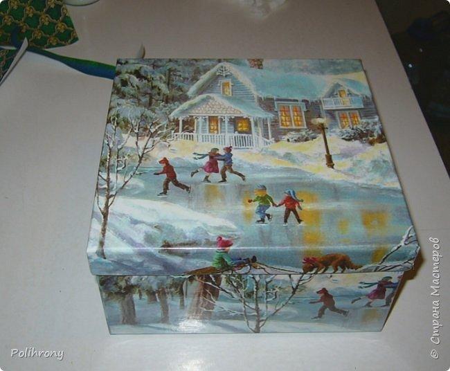 Добрый день, Страна!  После долгого перерыва, решилась вновь представить некоторые свои работы. Это всего лишь картонная тара, в основном для упаковки подарков на Новый год и дни рождения. фото 2