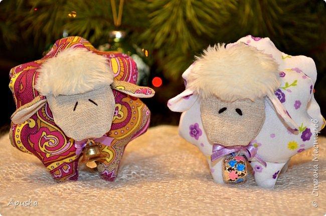 Добрый день! На новогодних каникулах сшились вот такие гномы из фетра.  фото 5