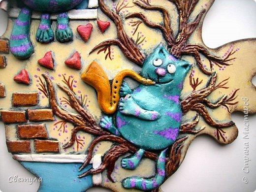 Доброго времени суток, Страна! Иллюстрацию увидела в вк, не смогла пройти мимо, гипсовая заливочка давно ждала своего часа и с хф хотелось поработать))))))) фото 4